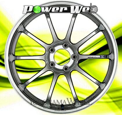 [ホイールのみ単品4本セット] YOKOHAMA WHEEL / ADVAN Racing RS-DF (MHS) 19インチ×10.0J PCD:120 穴数:5 インセット:22