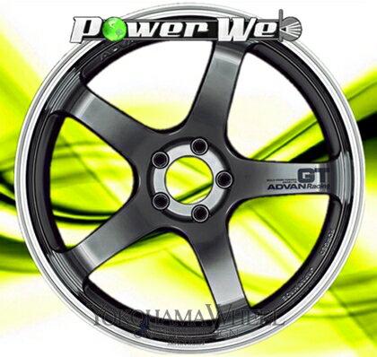 [ホイールのみ単品4本セット] YOKOHAMA WHEEL / ADVAN Racing GT (MHB) 19インチ×9.0J PCD:120 穴数:5 インセット:20