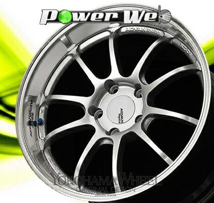 [ホイールのみ単品4本セット] YOKOHAMA WHEEL / ADVAN Racing RZ-DF (MHS) 19インチ×8.5J PCD:130 穴数:5 インセット:40