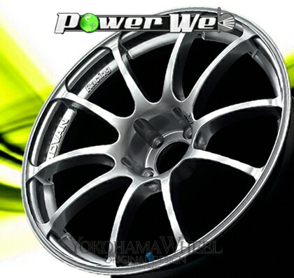 [ホイール1本(単品)] YOKOHAMA WHEEL / ADVAN Racing RZ (HS) 18インチ×8.5J PCD:114.3 穴数:5 インセット:45