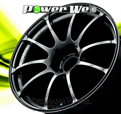 [ホイール1本(単品)] YOKOHAMA WHEEL / ADVAN Racing RZ (DG) 17インチ×7.0J PCD:100 穴数:4 インセット:38