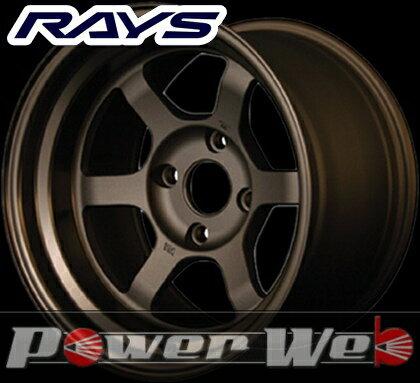 RAYS(レイズ) VOLK RACING TE37V (ボルクレーシング TE37V) 14インチ 7.0J PCD:114.3 穴数:4 inset:5 カラー:ブロンズ [ホイール1本単位]M