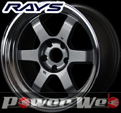 RAYS(レイズ) VOLK RACING TE37V (ボルクレーシング TE37V) 17インチ 8.5J PCD:100 穴数:4 inset:30 カラー:ガンメタリック/リムDC [ホイール単品4本セット]M