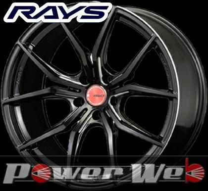 RAYS(レイズ) gram LIGHTS 57FXX (グラムライツ 57FXX) 18インチ 8.5J PCD:114.3 穴数:5 inset:45 FACE-1 カラー:ブラック&マシニング [ホイール単品4本セット]M