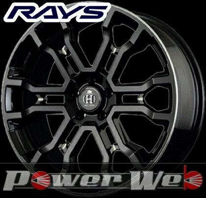 RAYS(レイズ) HFULL CROSS CROSS SLEEKERS T6 (フルクロス クロススリーカーズ T6) 18インチ 7.5J PCD:114.3 穴数:5 inset:38 カラー:ブラックマシニング [ホイール単品4本セット]M