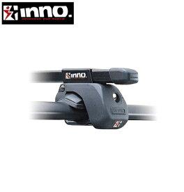 CARMATE inno (カーメイト イノー) シトロエン C5 型式:X7系 年式:H20.10〜 ツアラー(ワゴン) フット:IN-AR+バー:IN-B117(ブラック) スクエアベース 1台分セット