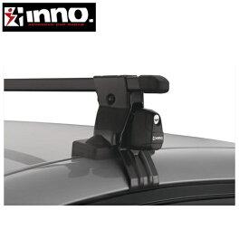 CARMATE inno (カーメイト イノー) シトロエン サクソ 型式:S8系 年式:H11.4〜H16.4 3ドア フット:IN-SUT+フック:K220+ジョイント:INJK+バー:IN-B107(ブラック) スクエアベース 1台分セット