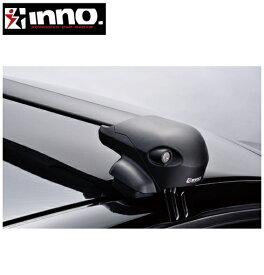CARMATE inno (カーメイト イノー) プジョー 208 型式:A9系 年式:H24.11〜 5ドアハッチバック フット:XS201+フック:K432+バー:XB100/XB100(ブラック) エアロベース 1台分セット