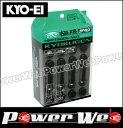 KYO-EI (キョーエイ) 品番:HPF3B4 極限 ヘプタゴンナット 20個入ナットセット M12×P1.25 全長:42mm カラー:ブラック 入数:20...