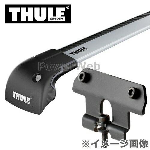 THULE(スーリー) ウイングバーエッジ:9594+キット:4040 スズキ エスクード ダイレクトルーフレール付 年式:H29/10〜 YD125, YE125, YEA1S キャリアセット
