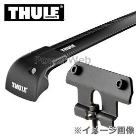 THULE(スーリー) ウイングバーエッジ(ブラック):9595B+キット:4072 レクサス RX ダイレクトルーフレール付 年式:H27/10〜 形式:AGL2#,GYL2# ベースキャリアセット