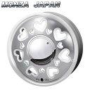 MONZA JAPAN K Quty (K キューティー) パールホワイトポリッシュ 15インチ 4.5J PCD:100 穴数:4 inset:43 [ホイール単品4本セット]