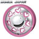 MONZA JAPAN K Quty (K キューティー) ピンクポリッシュ 15インチ 4.5J PCD:100 穴数:4 inset:43 [ホイール単品4...