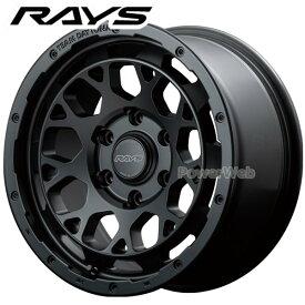 RAYS DAYTONA M9 BLACK EDITION (デイトナ ブラックエディション) セミグロスブラック (BEP) 16インチ 6.5J PCD:139.7 穴数:6 inset:38 [ホイール4本セット]