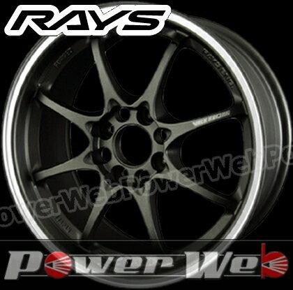 RAYS(レイズ) VOLK RACING CE28 CLUB RACER 8SPOKE (ボルクレーシング CE28 クラブ レーサー 8スポーク) 16インチ 6.5J PCD:100 穴数:4 inset:47 マットダークガンメタ/リムフランジDC [ホイール1本単位]