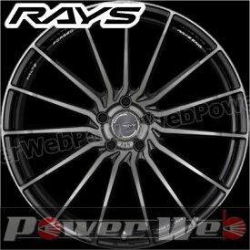 RAYS WALTZ A&N15 R 右側 (ヴァルツフォージド A&N15) プレスドブラッククリア 20インチ 8.5J PCD:114.3 穴数:5 inset:38 [ホイール1本]