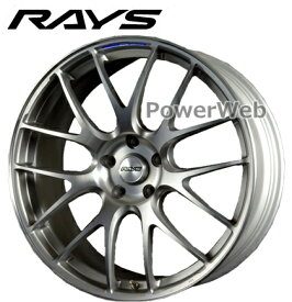 RAYS VOLK RACING G27 PROGRESSIVE MODEL (ボルクレーシング G27 PM) プレスドアッシュグレー 19インチ 9.5J PCD:120 穴数:5 inset:36 [ホイール1本]