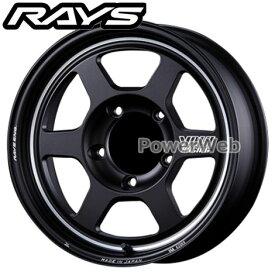 RAYS VOLK RACING TE37X-UL (TE37X UL ウルトラライト) ブラストブラック (BC) 16インチ 6.0J PCD:139.7 穴数:5 inset:-5 [ホイール4本セット]