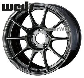 WedsSport TC105X EJチタン (EJT) 17インチ 8.5J PCD:100 穴数:5 inset:43 [ホイール4本セット]