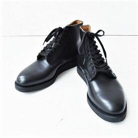 RedWing 9197 レッドウイング Postman Boots ポストマン ブーツ レザー ブラック SOLE Black Cushion Crepe クレープソール ブラック