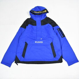 COLUMBIA コロンビア アウター プルオーバージャケット ナイロン100% 中綿ポリエステル レインプロテクター ブルー