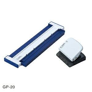 カール ゲージパンチ GP-20-B ブルー A5判/20穴