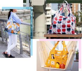 デザイナーズジャパンエコバッグ2個セット折りたたみショッピングバッグ個性的なおしゃれデザインエコバッグレジかごバッグに プチギフト内祝い出産祝い退職お礼ご挨拶母の日ギフトプレゼント2016お母さん誕生日