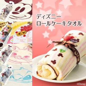 ディズニーキャラクタータオルがかわいいケーキに大変身!【ミッキーマウスチョコレートロールケーキ】