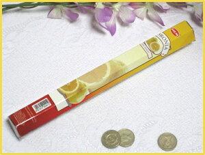 インドのお香♪HEM社製グレープフルーツ香1筒バラ売り(お試しパック)【インド香】【インセンス】【スティックタイプ】【6角Hexaパック】