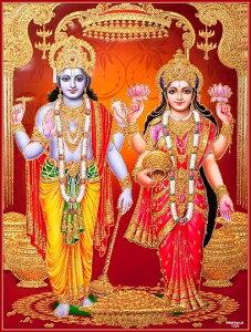 インドの神様 クリシュナ&ラーダのお守りカード(小)×1枚[012]India God【krishna&radha】Small Card(charm) 【神聖】【知】【愛】【美】【魅力】【魅了】【お守り】