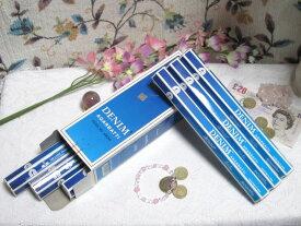 【まとめ買いがお得!】インドのお香♪SHASHI社製 デニム香1箱 6筒入り【インド香】【インセンス】【スティックタイプ】【Hexaパック6本入り】