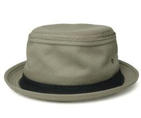ニューヨークハット New York Hat 3061 COTTON STINGY コットン スティンジー Khaki 帽子 ハット ポークパイハット メンズ レディース 男女兼用 あす楽