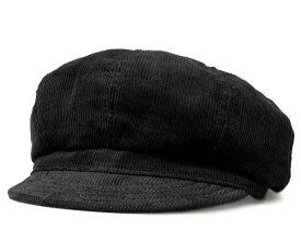 New York Hat ニューヨークハット #9023 Corduroy Spitfire コーデュロイ スピットファイア , Black 【 帽子 キャスケット コール天 メンズ レディース 男女兼用 】