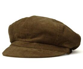 New York Hat ニューヨークハット #9023 Corduroy Spitfire コーデュロイ スピットファイア , Rust 【 帽子 キャスケット コール天 メンズ レディース 男女兼用 】