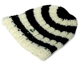 LACOSTE ラコステ ワッチ ニットキャップ L3418 オフホワイト 帽子 メンズ レディース 男女兼用