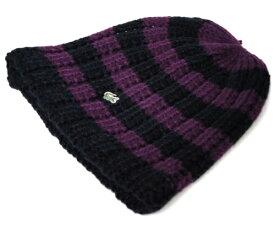LACOSTE ラコステ ワッチ ニットキャップ L3418 ネイビー 帽子 メンズ レディース 男女兼用