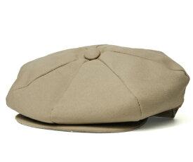 NEW YORK HAT(ニューヨークハット) 帽子 キャスケット #6218 CANVAS NEWSBOY, Khaki