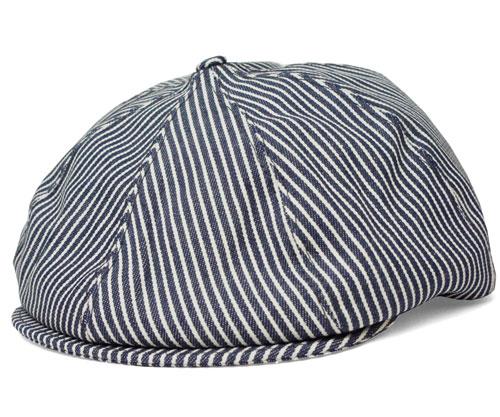 ニューヨークハット NEW YORK HAT ハンチング キャスケット 6224 Hickory Gatsby ヒッコリー ギャッツビー