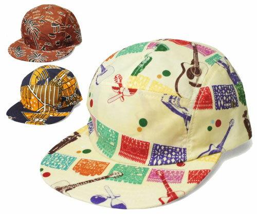 New York Hat ニューヨークハット 6110 Global 5 Panel Camp グローバル5パネルキャップ Mariachi African Batick 帽子 キャップ 紳士 婦人 メンズ レディース 男女兼用 あす楽 【楽ギフ_包装】