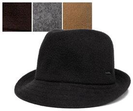 KANGOL カンゴール ハット WOOL ARNOLD ウール アーノルド Black Tobacco Flannel Camel Spuce 帽子 ハット 中折れハット 紳士 婦人 メンズ レディース 男女兼用