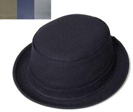 ニューヨークハット New York Hat 3014 CANVAS STINGY ポークパイハット キャンバス スティンジー Black Tan Grey Navy 帽子 ハット メンズ レディース 大きなサイズ XXL あす楽