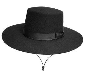 帽子 ニューヨークハット New York Hat #5015 Gaucho ガウチョ Black フェルトハット 紳士 メンズ レディース ギフト