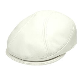 New York Hat ニューヨークハット #9250 LAMBA 1900 ランバ1900 レザーハンチング White 数量限定 紳士 婦人 メンズ レディース 男女兼用