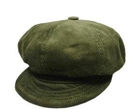New York Hat ニューヨークハット #9023 Corduroy Spitfire コーデュロイスピットファイア olive 帽子 コーデュロイ キャスケット ハンキャス ハンチング 紳士 婦人 メンズ レディース 男女兼用 あす楽 【楽ギフ_包装】