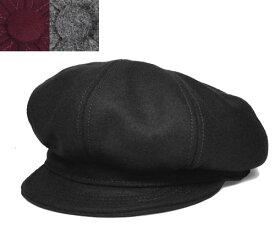 ニューヨークハット New York Hat  キャスケット ハンチング 9055 WOOL SPITFIRE Black メンズ レディース 春夏秋冬 大きいサイズ
