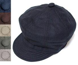ニューヨークハット 帽子 キャスケット ハンチング New York Hat 6225 LINEN SPITFIRE リネン スピットファイア 大きいサイズ XXL Black メンズ レディース ギフト
