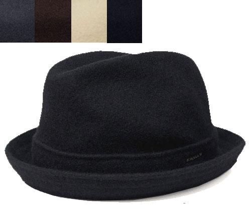 カンゴール KANGOL 帽子 ハット 中折れ WOOL PLAYER ウール プレイヤー Black DarkFlannel Tobbaco White Dk.Blue 大きいサイズ XXL メンズ レディース あす楽