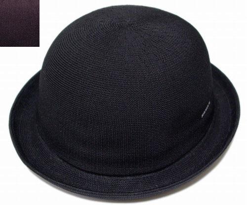 カンゴール KANGOL TROPIC BOMBIN Black Prune トロピック ボンビン 帽子 ボーラー ハット メンズ レディース 男女兼用 あす楽