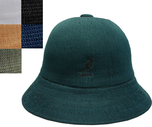 KANGOL TROPIC CASUAL カンゴール トロピック カジュアル MALACHITE WHITE NU SERGEANT BLACK INK 帽子 ボーラーハット バケットハット ストリート ハット メンズ レディース 男女兼用 あす楽 紳士 婦人 ギフト