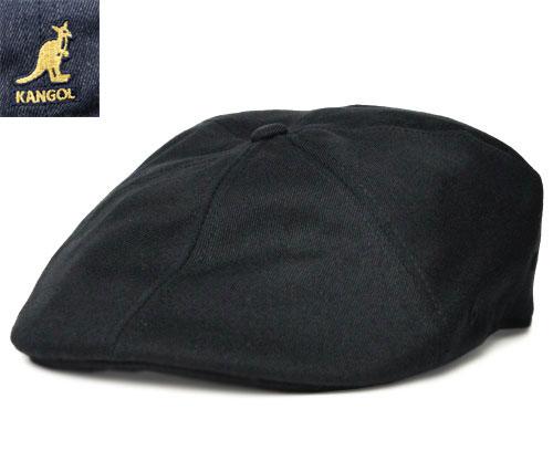KANGOL カンゴール WOOL FLEX 504 ウール フレックス504 Black Denim 帽子 ハンチング メンズ レディース 男女兼用
